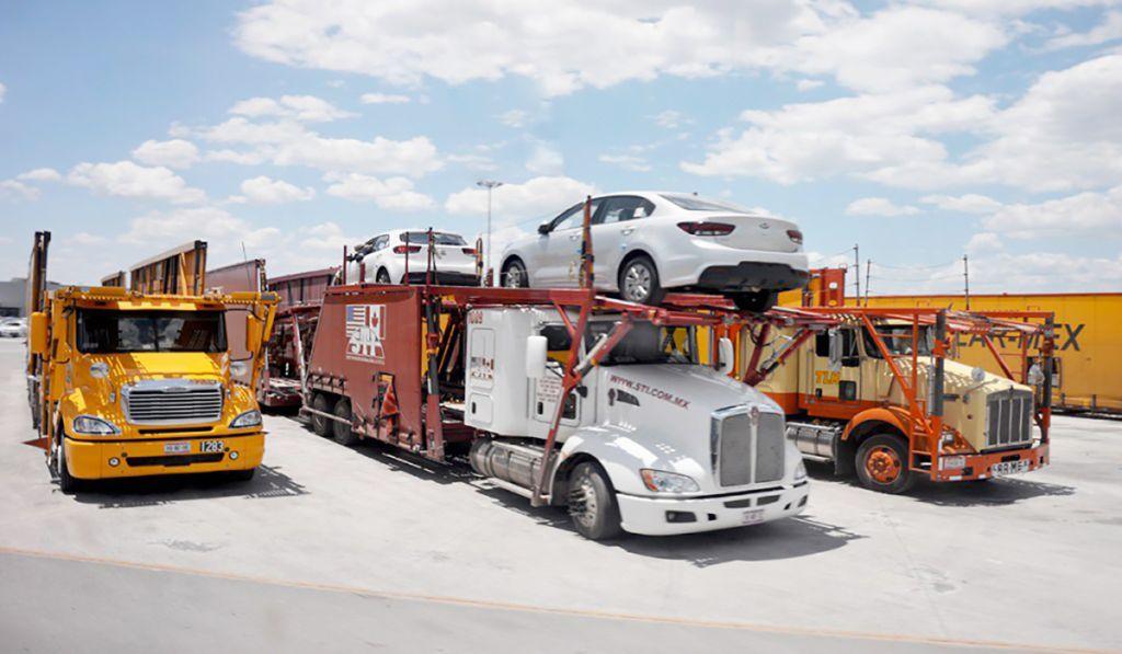 Producción y exportación de autos