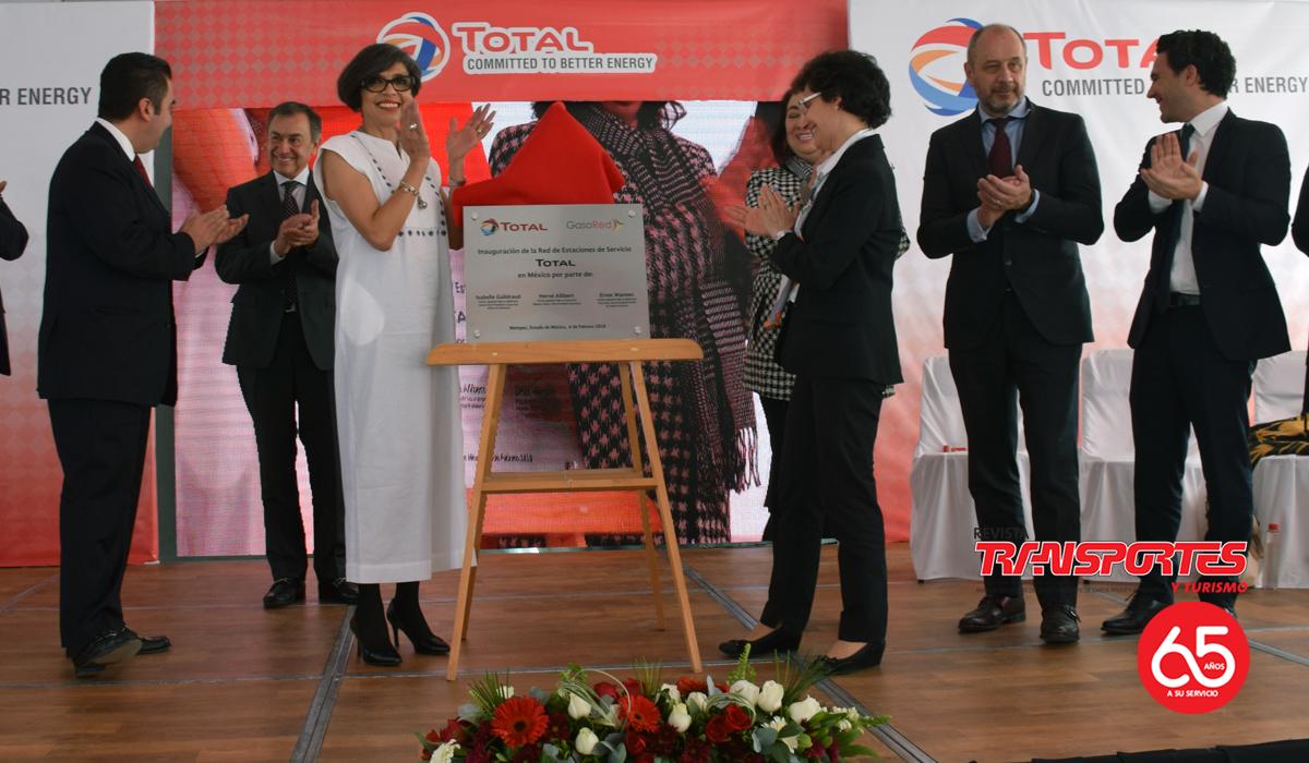 Nueva estación de servicio de Total en Metepec.