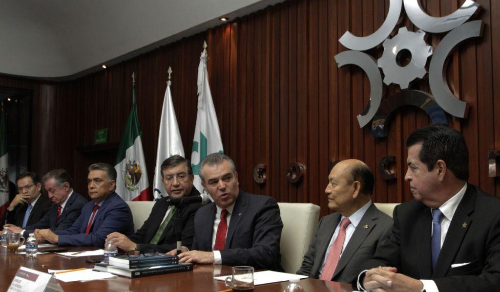 Selecciona Concamin a tres candidatos para suceder a Francisco Cervantes