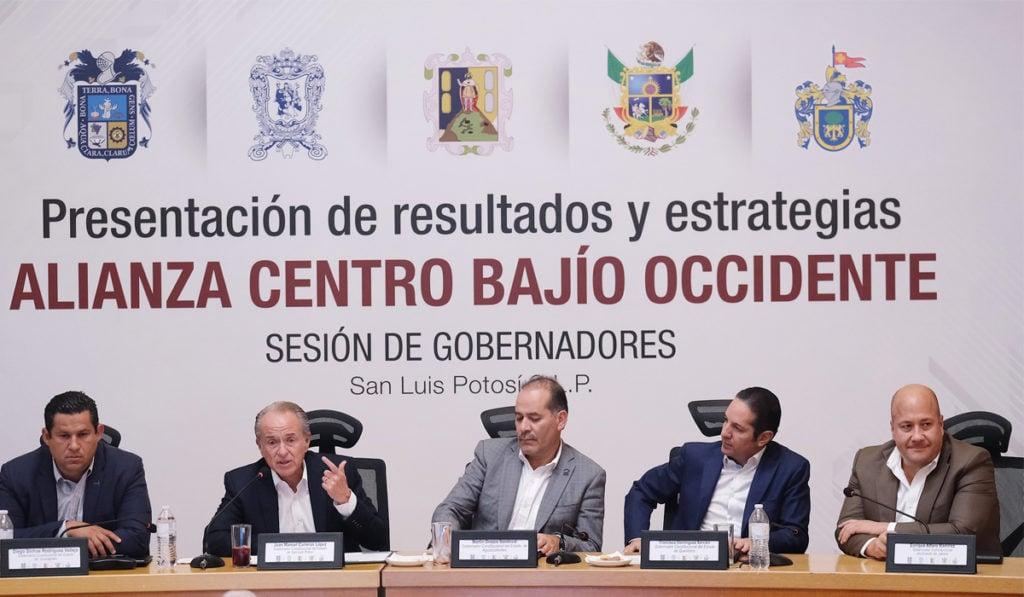 La Alianza Centro Bajío Occidente, incluyó en la firma del convenio al Laboratorio Nacional de Políticas Públicas del Centro de Investigación y Docencia Económicas (CIDE), a cargo de Eduardo Sojo.