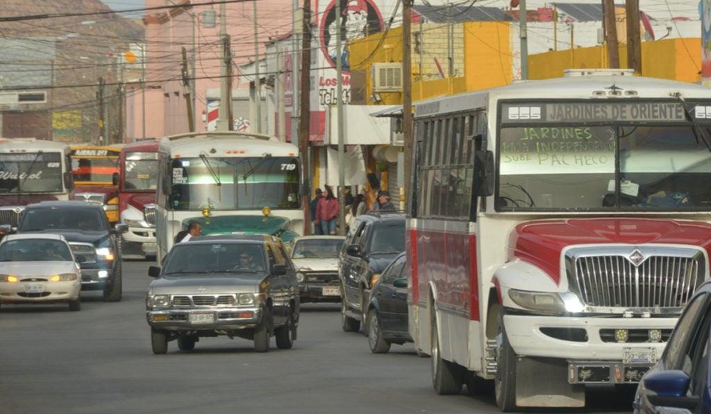 Chihuahua- Transporte público