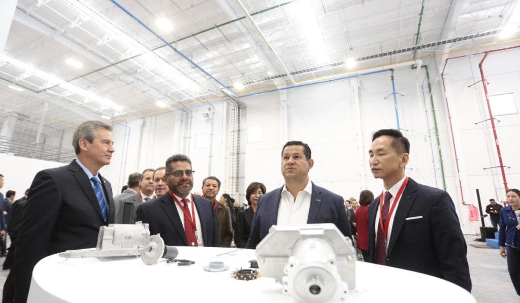 La empresa de autopartes TAIGENE se instaló en Guanajuato, con una inversión de 45.7 millones de dólares.
