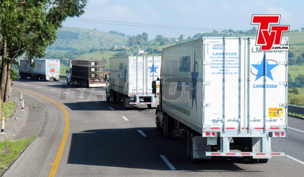 Autotransporte opera a 86% de su capacidad: Canacar