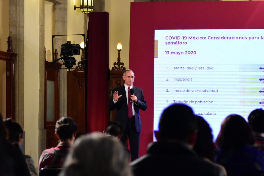López-Gatell: Nuevas esenciales no iniciarán operaciones el 18 de mayo
