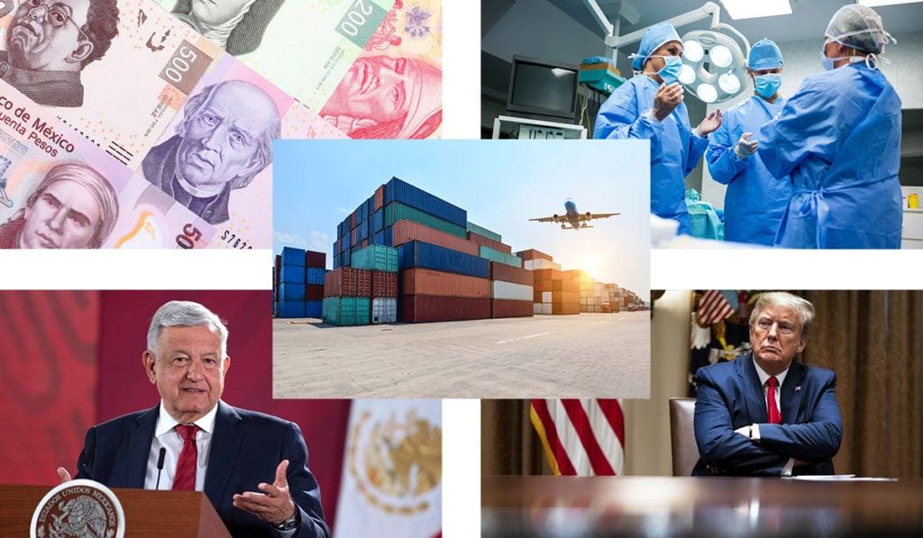 ¿De qué dependerá la caída en la economía de México?