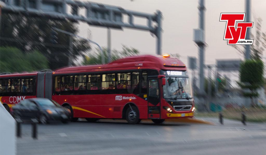 Sesenta unidades del Metrobús darán servicio gratuito en ruta del tramo elevado de L12