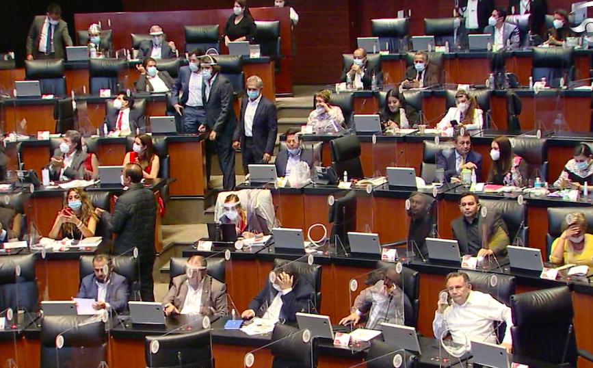 Avala Senado leyes reglamentarias del T-MEC