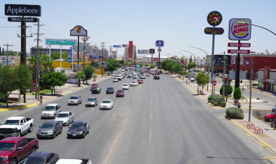 Restringen al transporte de carga en Juárez, por obras