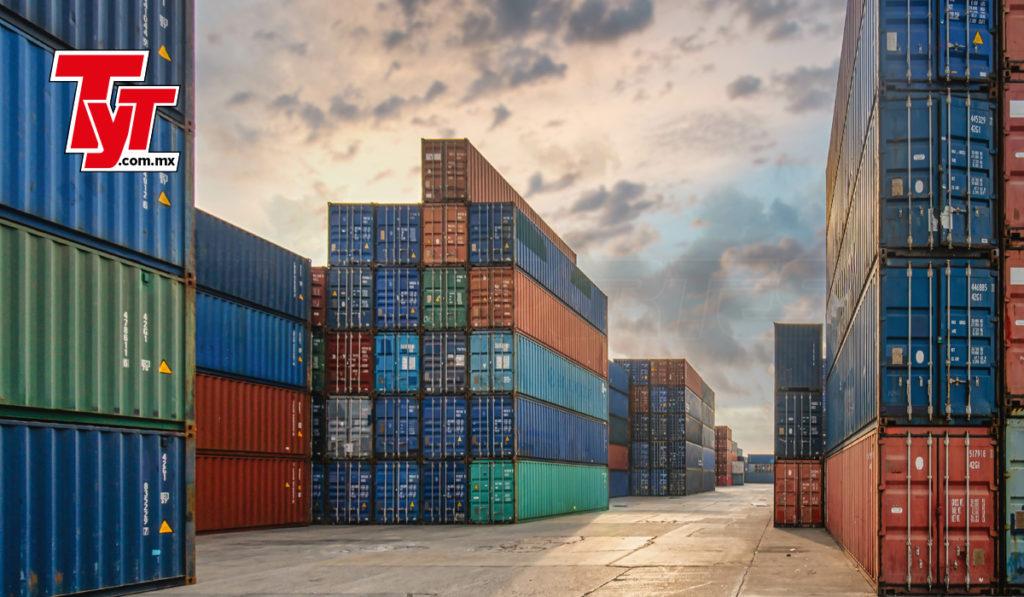 Exportaciones caen 7.7% en agosto a menor ritmo