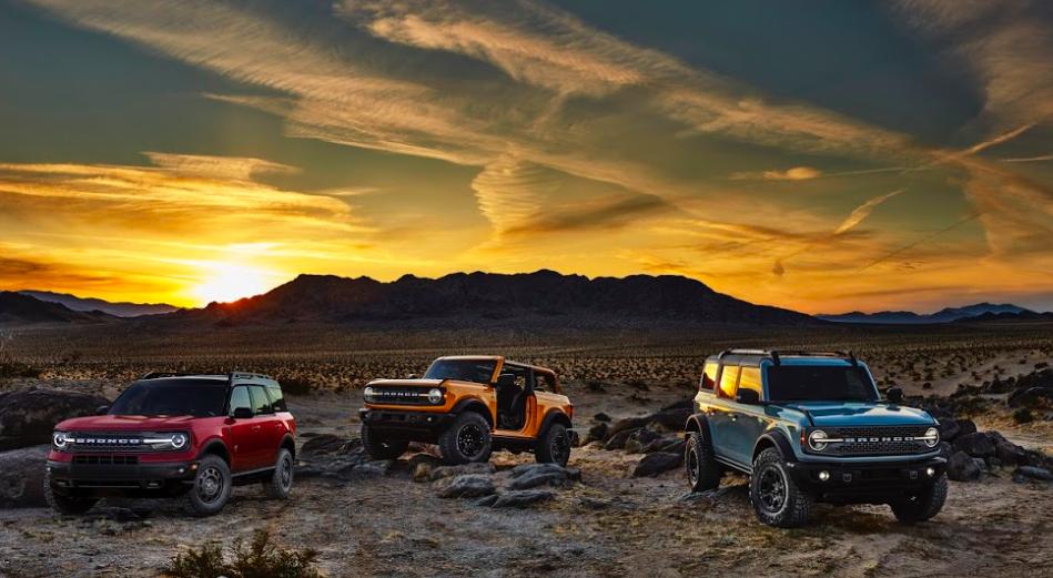 Ford Bronco regresa con tres poderosos clásicos todoterreno