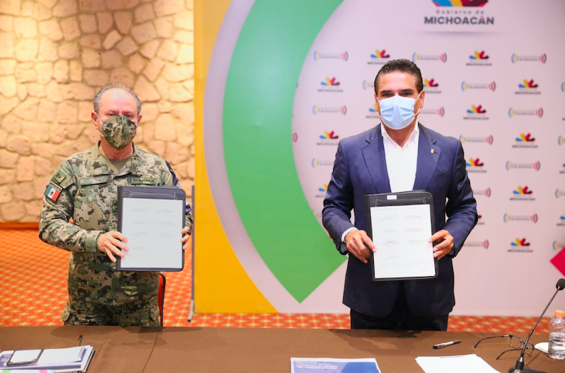 Marina fortalece su presencia en Michoacán