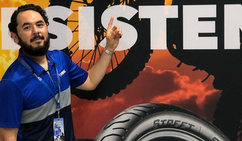 Crece en México y Centroamérica venta de llantas Vipal para moto