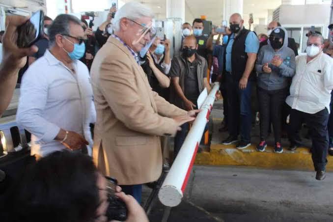 Gobierno de AMLO frena a Bonilla y recupera caseta de Playas de Tijuana
