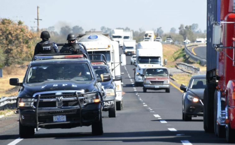 Aseguran 29 unidades de transporte en Operativo Guanajuato Seguro