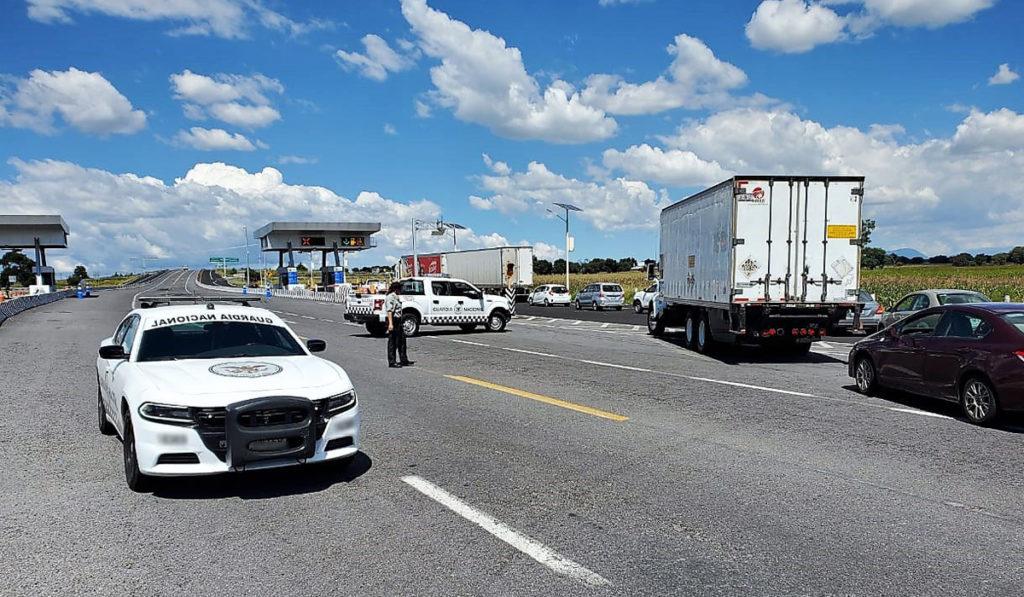 Baja en septiembre percepción de inseguridad en carreteras