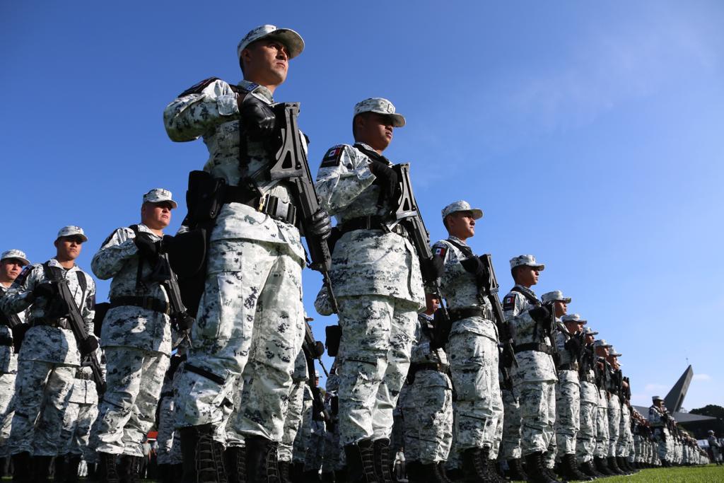 AMLO Guardia Nacional Sedena Ejército