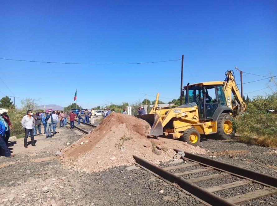 Después de dos meses, liberan las vías del tren en Chihuahua