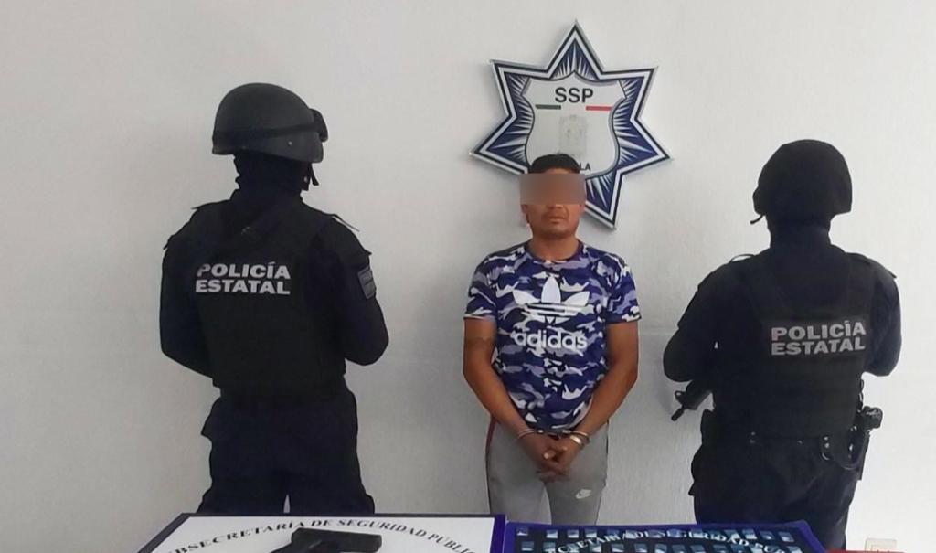 Golpe al robo de carga en Puebla, cae líder de banda en Amozoc