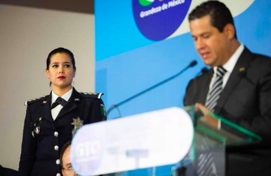Llega Sophia Huett a la sSecretaría Ejecutiva del Sistema de Seguridad Pública de Guanajuato.