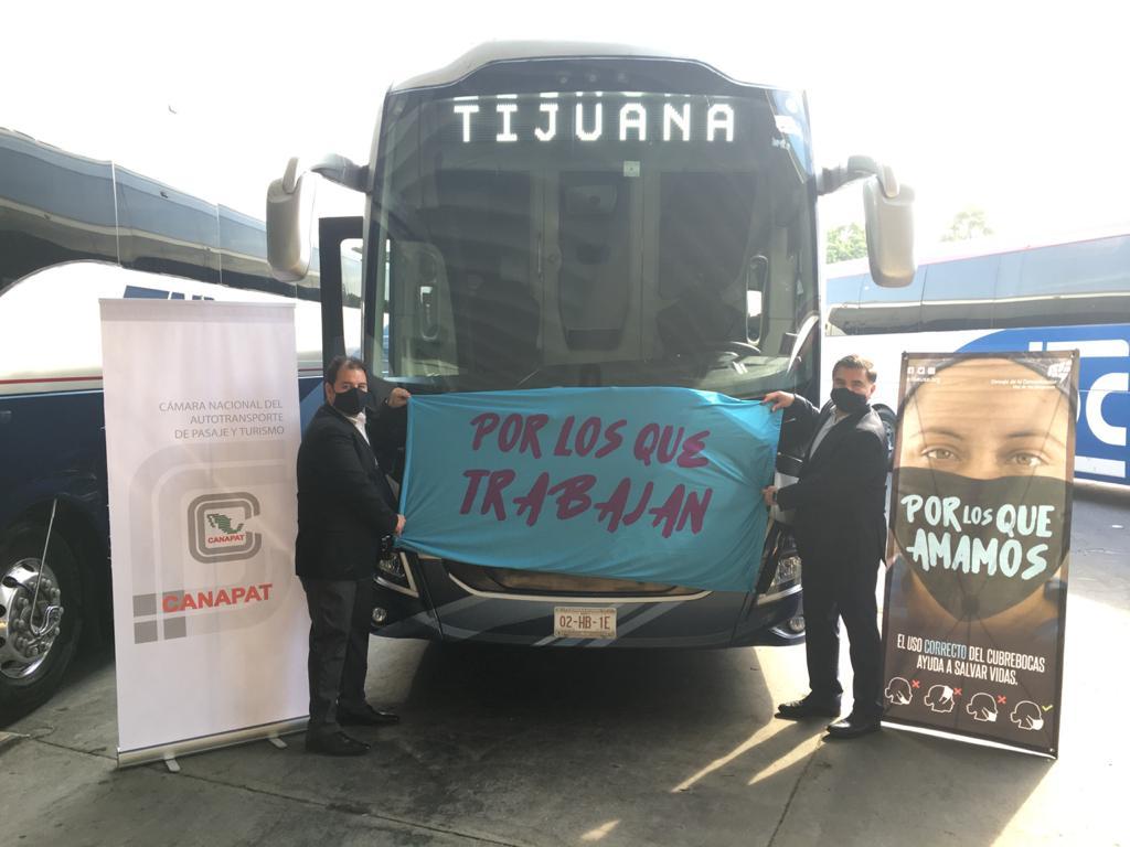 Canapat promueve uso correcto de cubrebocas en Tijuana