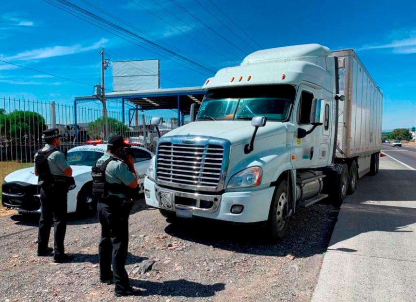 Repunta con fuerza robo al autotransporte de carga en octubre