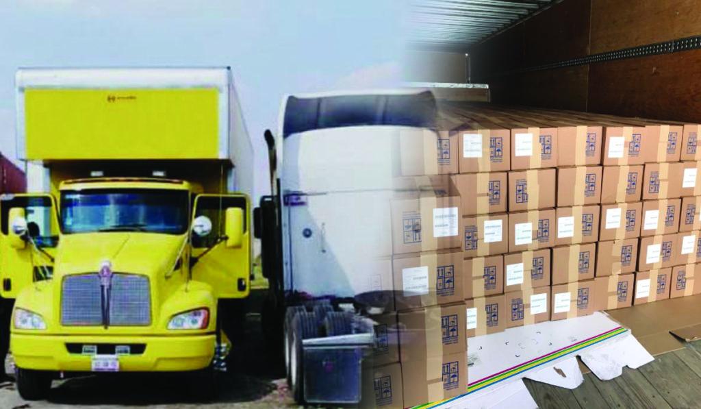 Recupera FGJEM más de 138 mil cajas de medicamento robado, sin detenidos