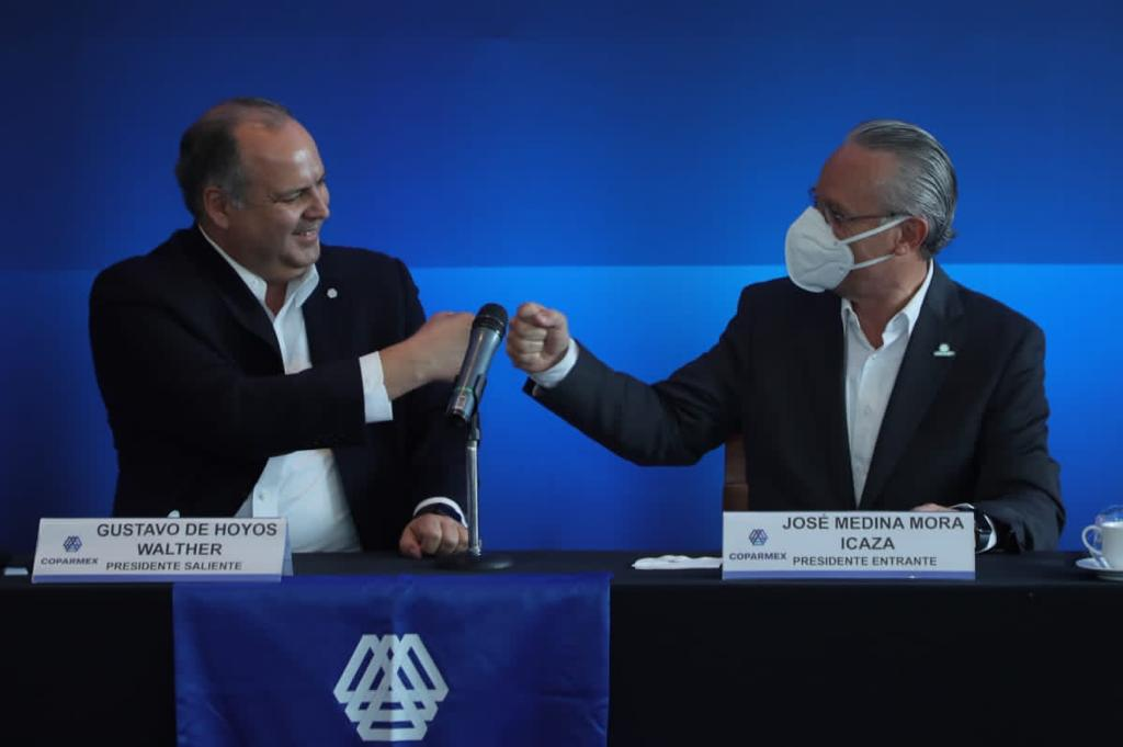 Medina Mora Icaza será el nuevo presidente de Coparmex