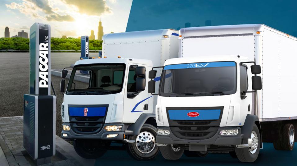 PACCAR presenta estaciones de carga para eléctricos