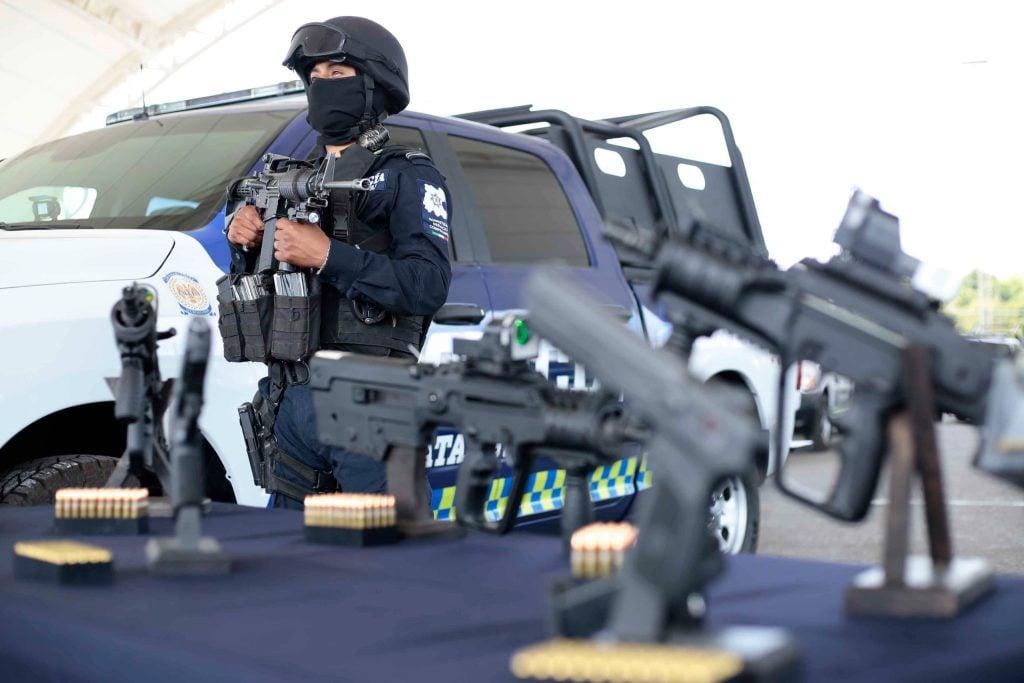 Guanajuato quiere la policía mejor pagada y equipada de México