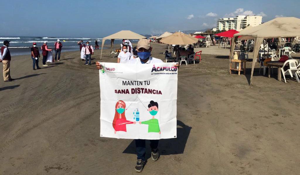 Guerrero retrocede a rojo en semáforo epidemiológico