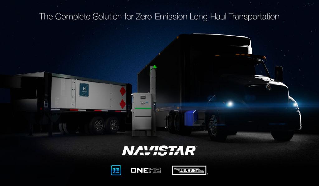 Navistar establece nueva alianza para crear ecosistema para camiones de hidrógeno