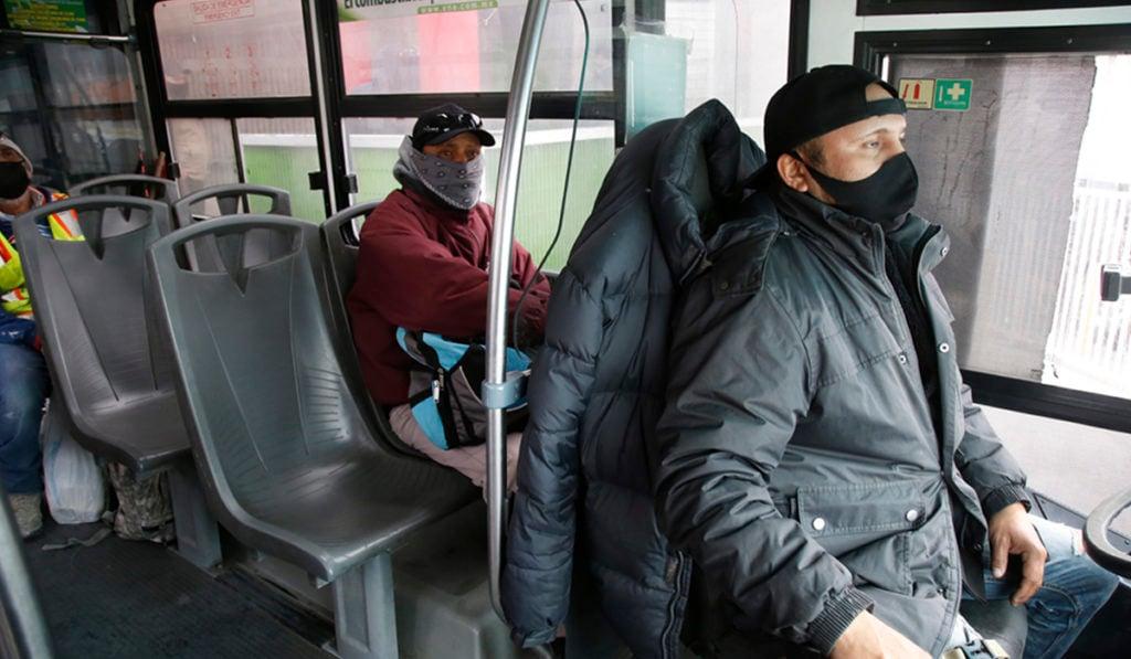 Transporte público en Chihuahua continúa con el 50% en aforo de pasajeros