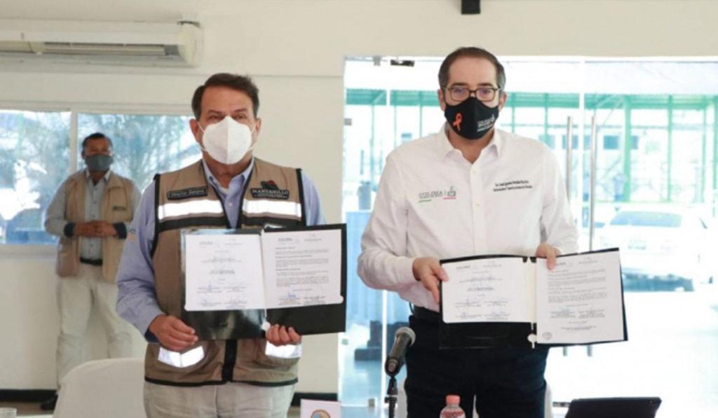 Firman convenio para reforzar la seguridad en el Puerto de Manzanillo