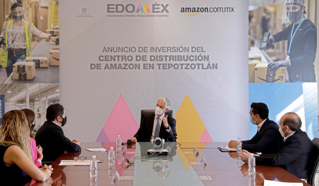Expansión del centro de distribución de Amazon Tepotzotlán llega con más de mil empleos