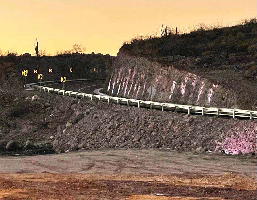 Ampliación La Paz-Pichilingue facilita transporte de carga