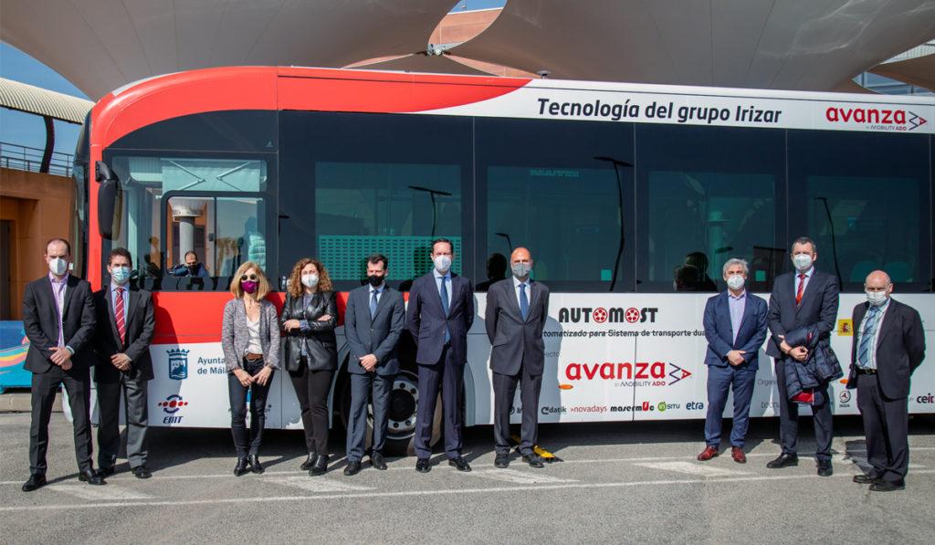 Irizar presenta el primer bus eléctrico... y ¡autónomo!