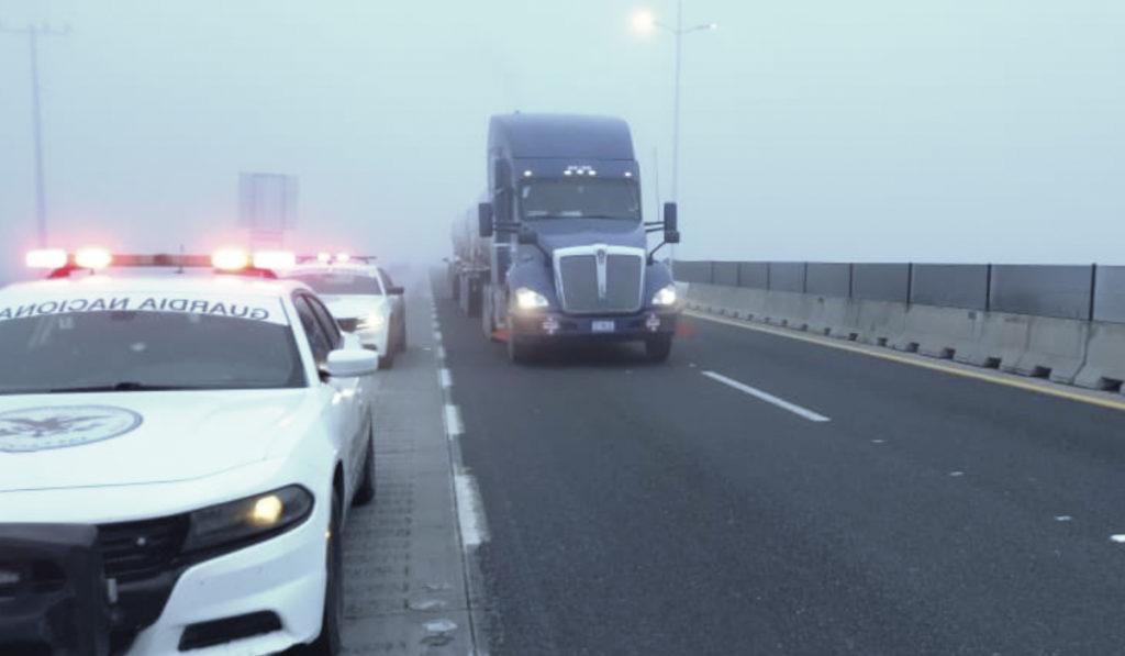 Alertan por nevadas en puntos carreteros de Nuevo León