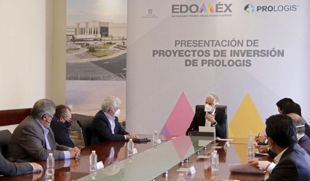Prologis invierte en Edomex más de 9 mil mdp para cuatro nuevos parques industriales