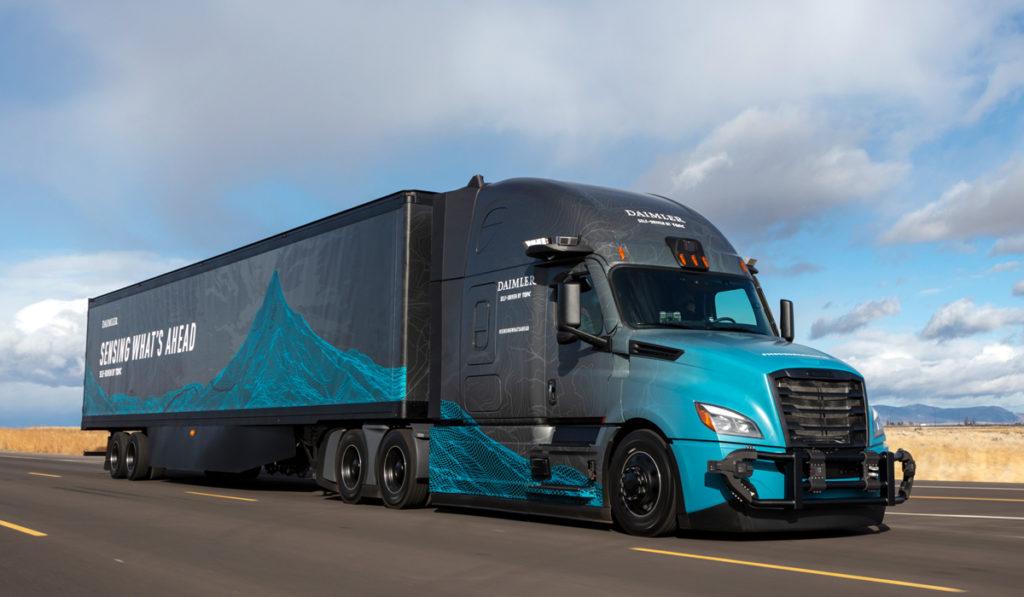 Amazon se suma al desarrollo de camiones autónomos de Daimler