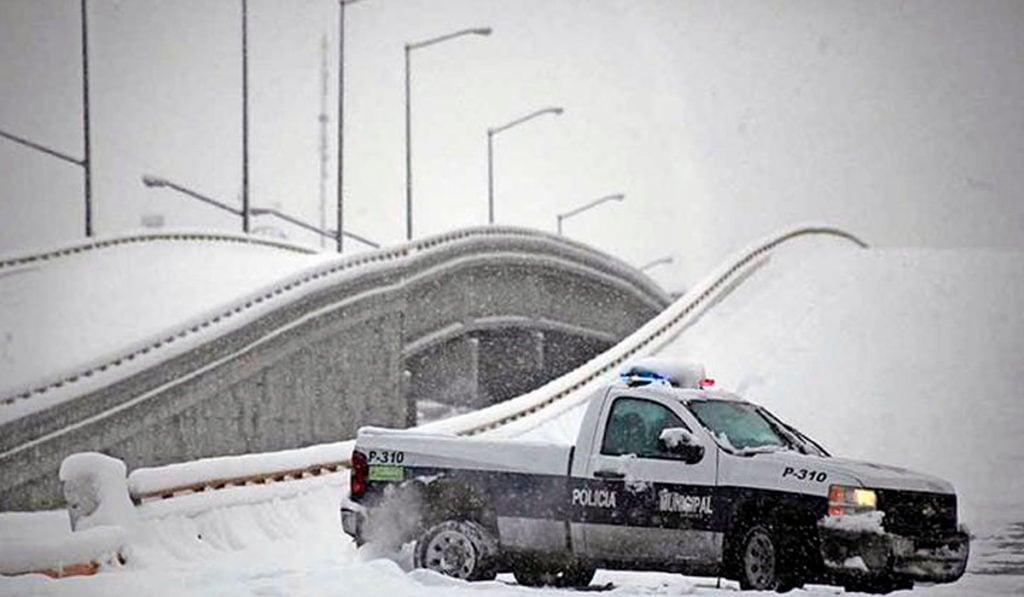 Alertan de posibles nevadas en Ciudad Juárez para el fin de semana