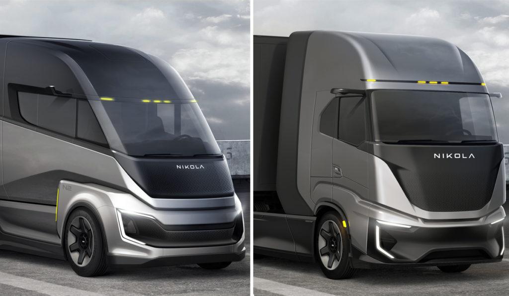 Nikola presenta dos nuevos camiones a hidrógeno