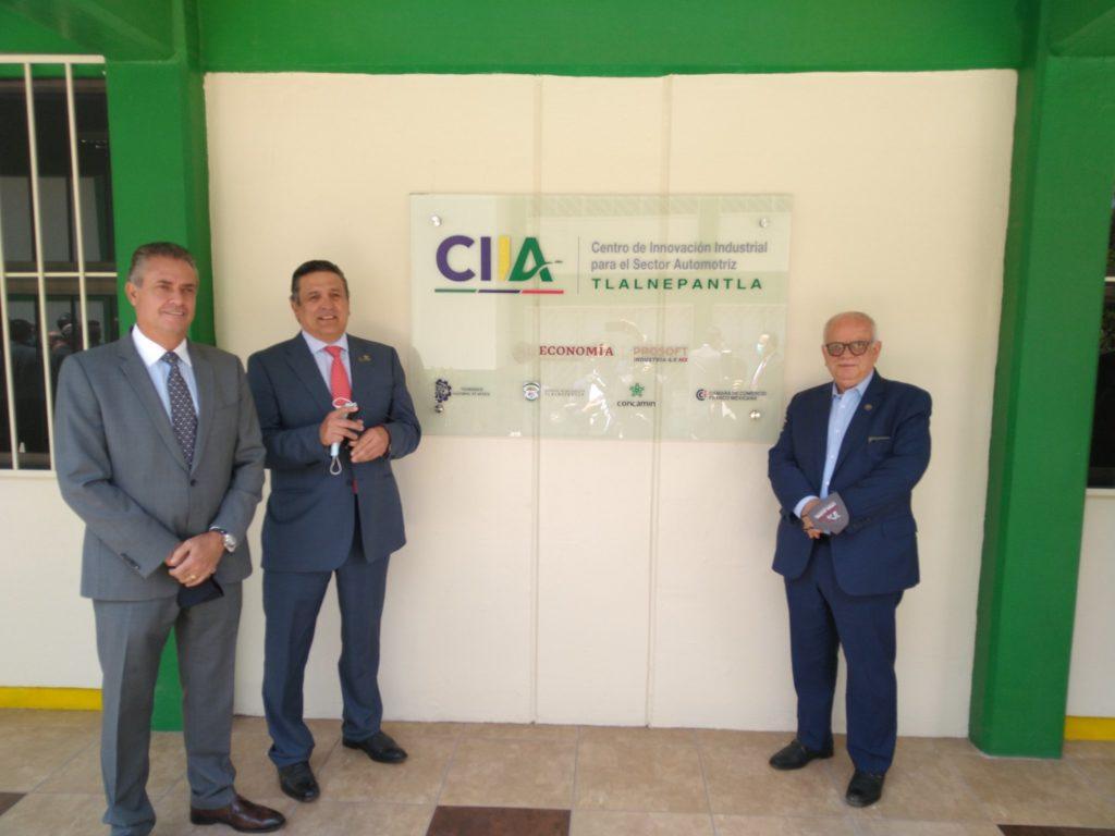 Inauguran Centro de Innovación Industrial Automotriz en Tlalnepantla