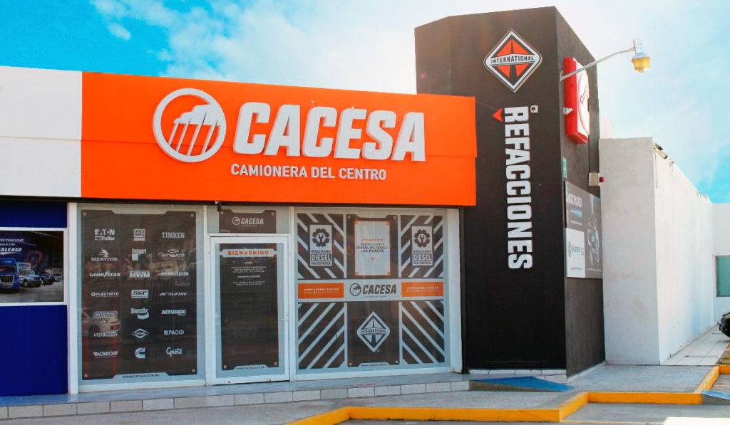 CACESA tiene nueva sucursal de autopartes International