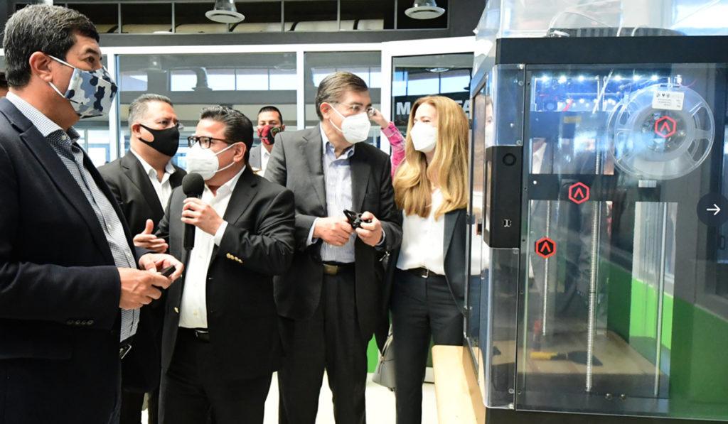 Inauguran Centro de Innovación Industrial Aeroespacial en Chihuahua