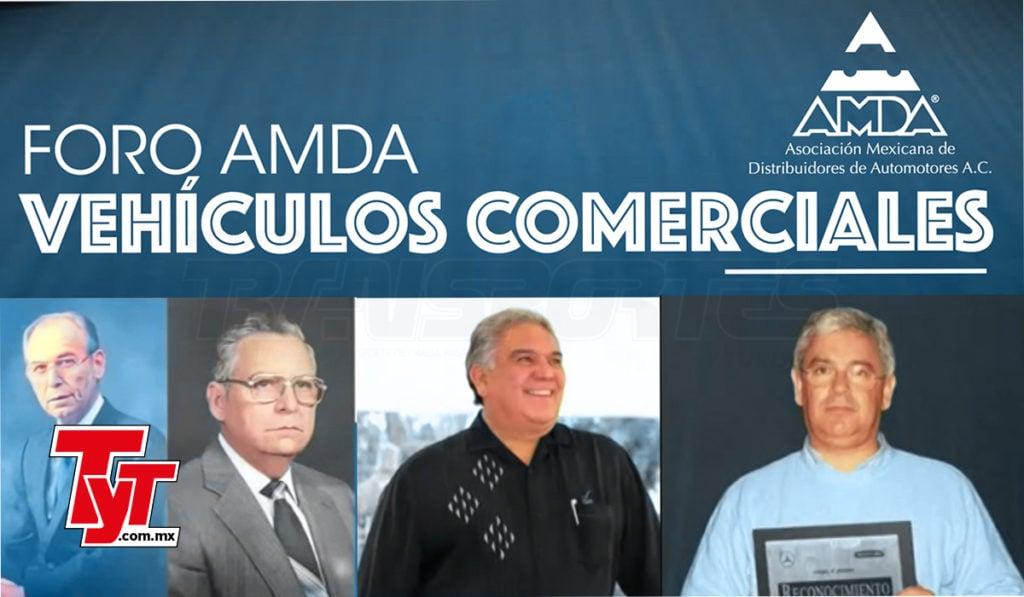 AMDA reconoce legado de distribuidores de vehículos comerciales