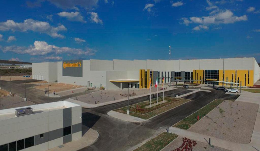 Continental expande su planta en SLP con 72.5 mdd
