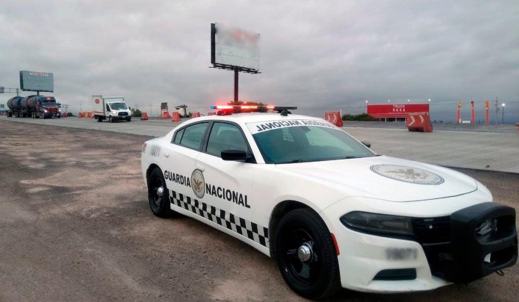 Prohíben a Guardia Nacional persecuciones vehiculares en BC