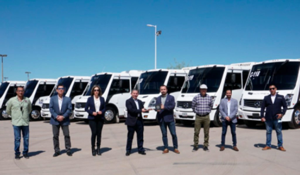 Mercedes-Benz Autobuses entrega 20 buses a MOVIMEX en Sonora