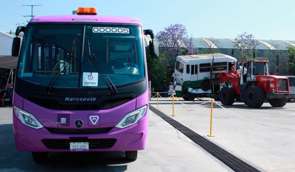 CDMX prevé chatarrizar 6 mil unidades de transporte público para 2023