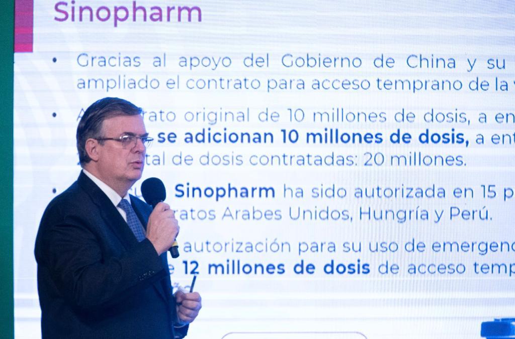 México amplía contratos para recibir 22 millones de vacunas contra COVID-19